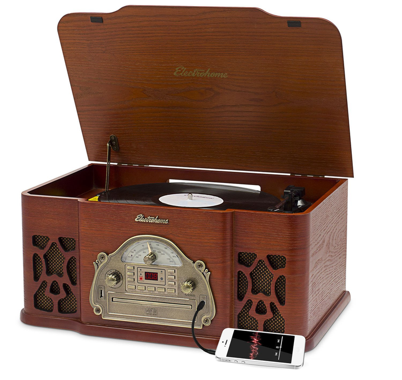 Electrohome-EANOS502 - What's The Best Record Player With Speakers? Devoted To Vinyl