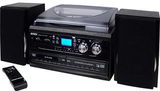 Jensen All-In-One Dual CD Turntable