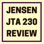 Jensen JTA 230 review