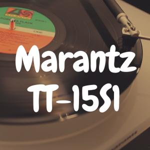 Marantz TT-15S1 review