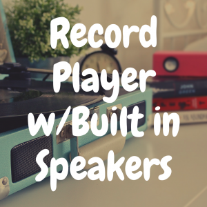 The Best Record Players with Built-in Speakers on the Market