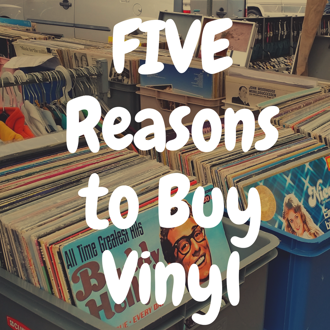 5 Reasons You Should Buy Vinyl Records ASAP