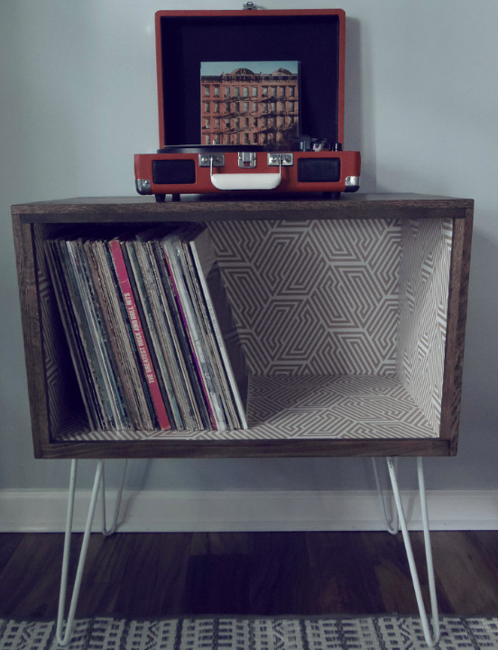 15 Awesome Record Player Stands and Cabinets for Your Home