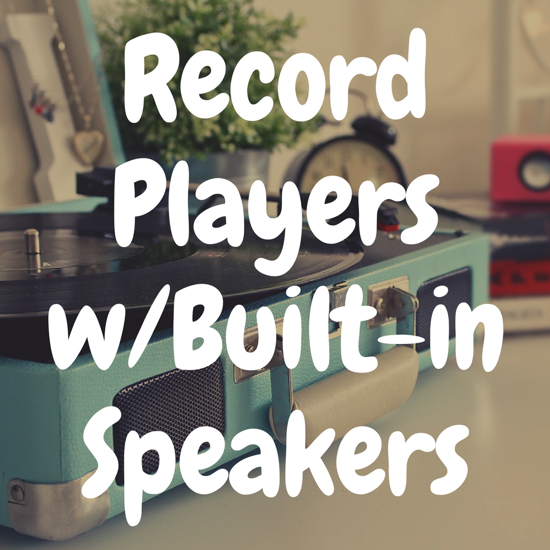 The Best Portable Record Players with Built-in Speakers