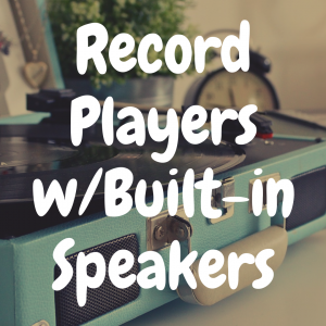 Record Players with Built In Speakers: Good Idea or Bad Idea?!