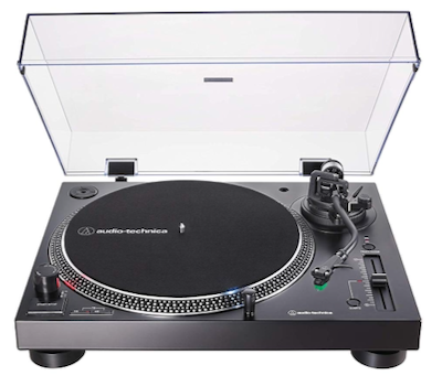 Check out the Audio-Technica AT-LP120XUSB black version