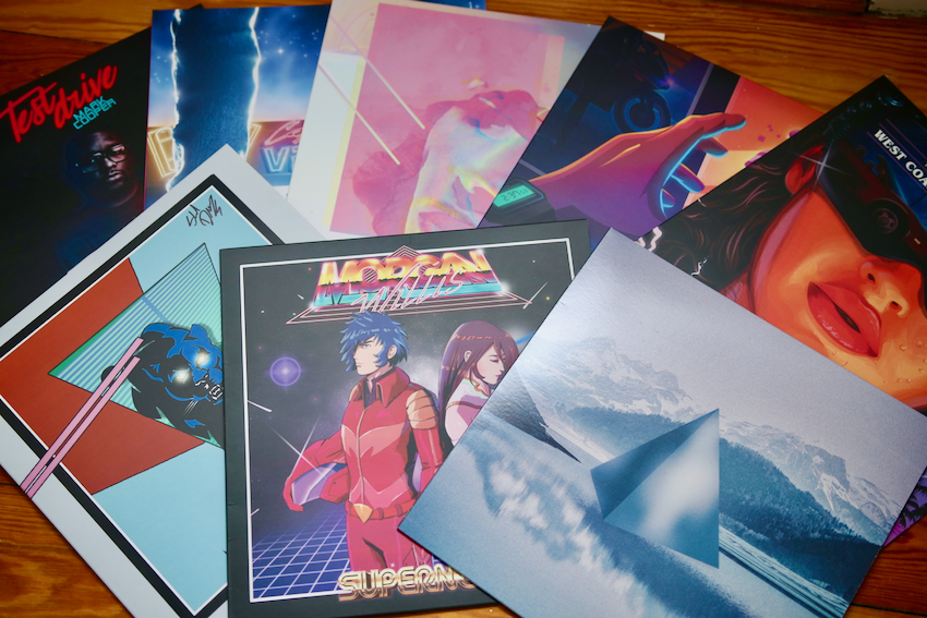My list of the best synthwave albums on vinyl