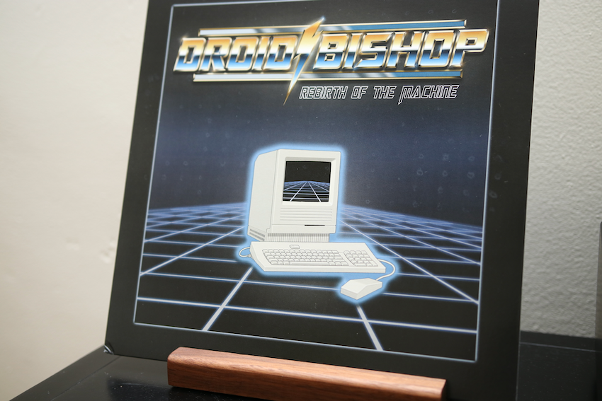 Rebirth of the Machine by Droid Bishop is on vinyl