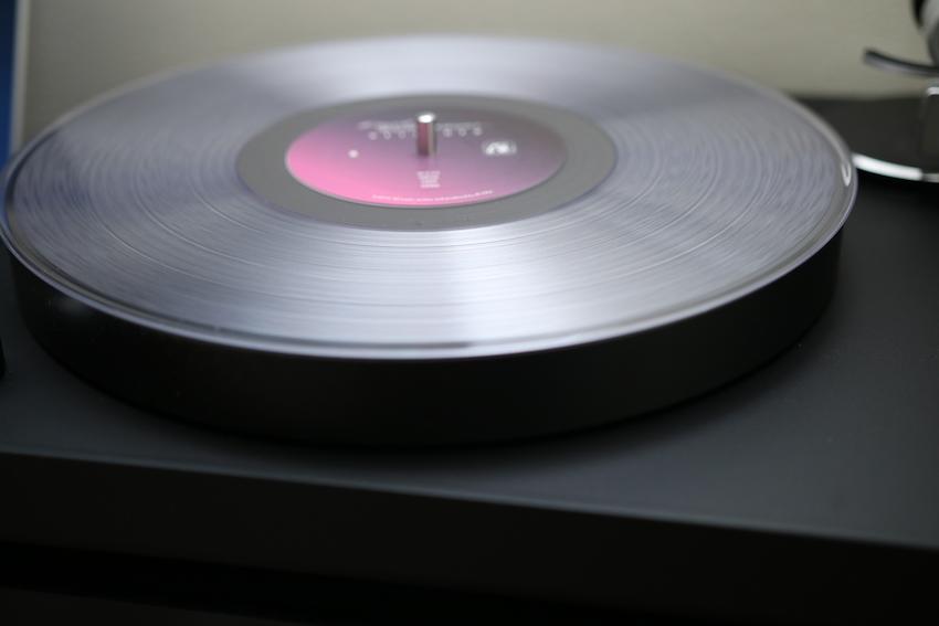 Emil Rottmayer's vinyl record of Detached comes on clear vinyl