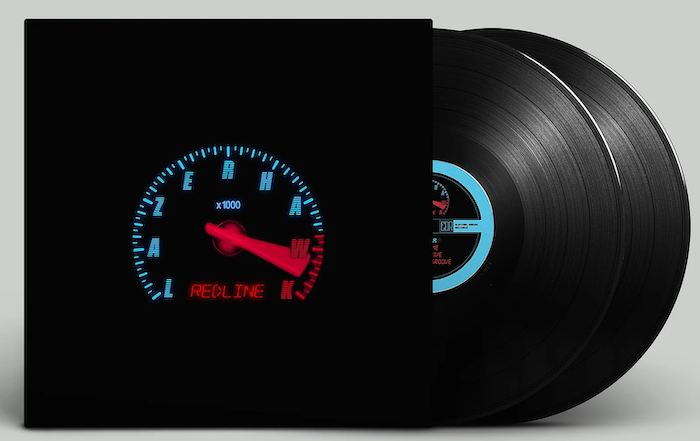 Redline by Lazerhawk is a fantastic synthwave vinyl production