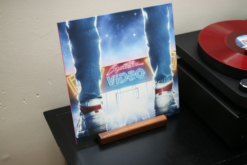 Your Sister Is a Werewolf's release of Captain Video on vinyl