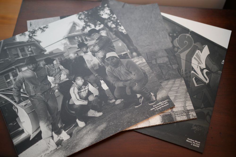 Smithsonian Anthology to Hip Hop and Rap fold out booklets for CDs