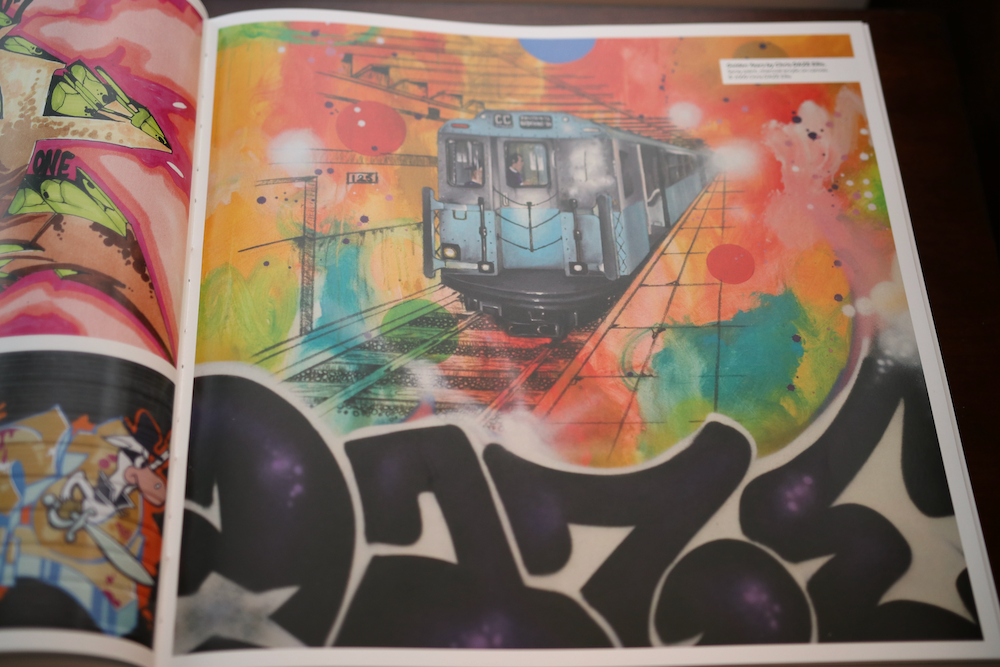 Graffiti discussed in the Smithsonian Anthology to Hip Hop and Rap book