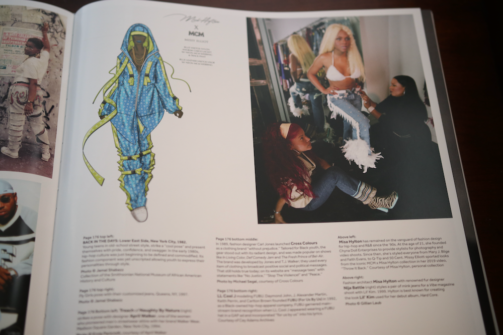 Lil' Kim featured in the Smithsonian Anthology to Hip Hop and Rap