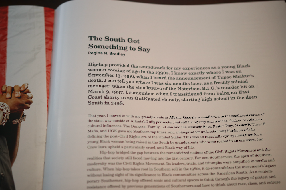 This Smithsonian Anthology book covers southern rap, as well.