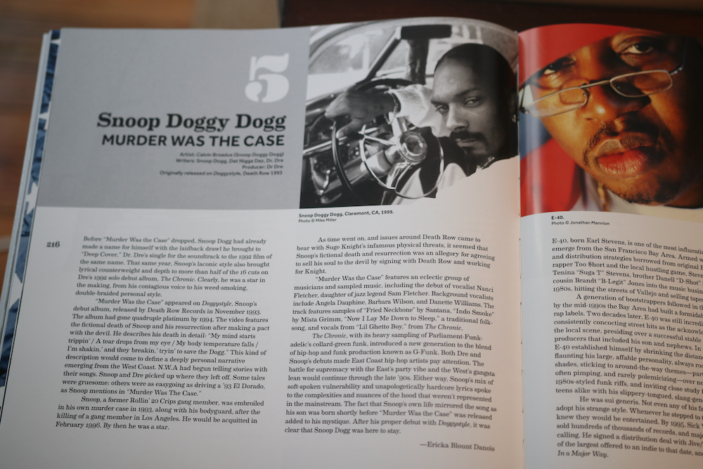 Snoop Dogg featured in Smithsonian's Anthology to Hip Hop and Rap