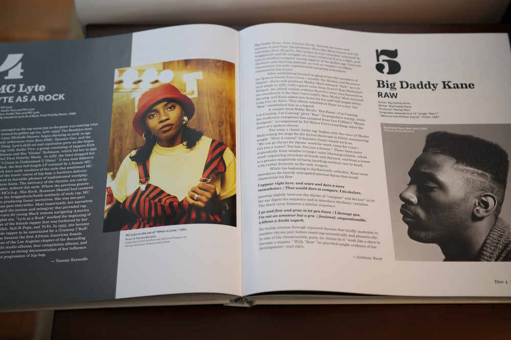 MC Lyte and Big Daddy Kane featured in the Smithsonian Anthology to Hip Hop and Rap