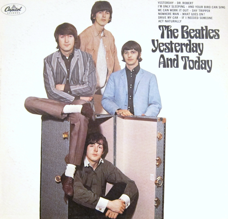 Beatles Trunk cover is not worth a lot of money on vinyl